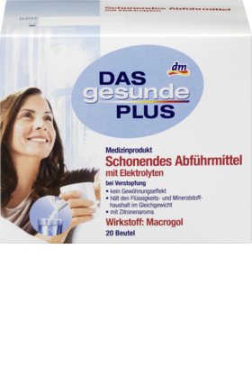 Gentle laxative, 20 bags - Das gesunde Plus