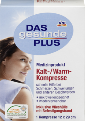 Cold / Warm Compress, 1 piece  - Das gesunde Plus