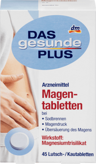 Stomach tablets, 45 Tablets - Das gesunde Plus