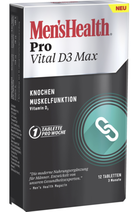 Vital D3 Max, 12 tablets - Men's Health