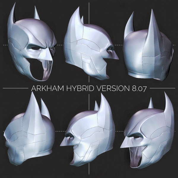 Coming Soon: Arkham Hybrid Cowl