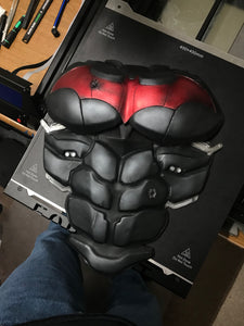 Chest/Abs Armor - Batman Arkham Knight