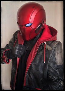 Helmet - Red Hood Assassin