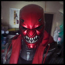 Load image into Gallery viewer, Helmet - Red Oni