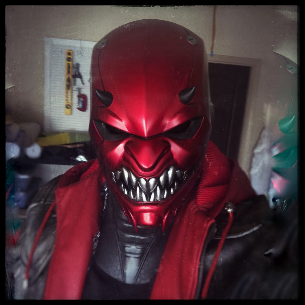 Helmet - Red Oni