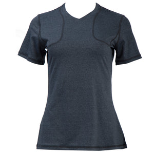 Women's Sport Top with Shoulder Pockets