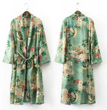 Floral Long Trench - BL012