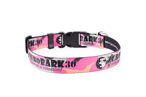The Pink Throwback - Collar
