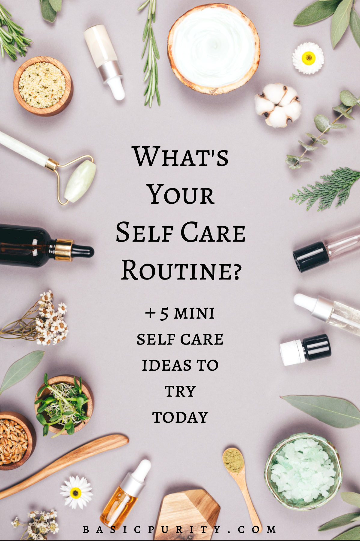Mini Self Care Ideas To Try Today