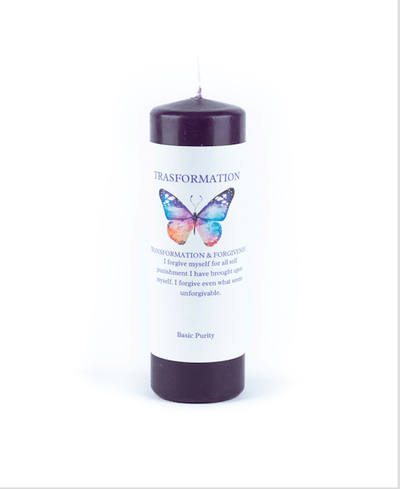 Transformation and Forgiveness Meditation Candle... - Basic Purity