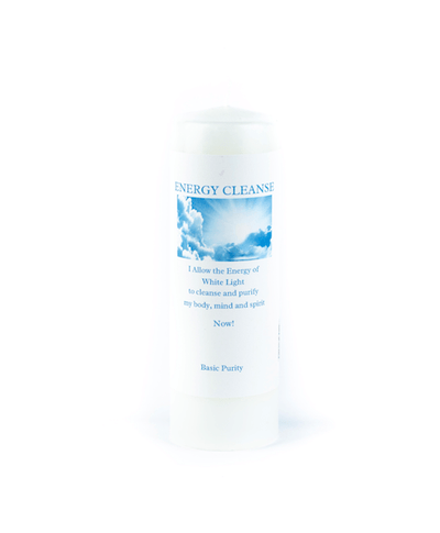 Energy Cleanse Meditation Candle