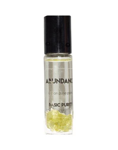 Designed to help you manifest and draw in new things into your life. If you are looking for a new career, relationship, or wealth Easy to use Heightens your awareness  Smells wonderful Abundance Roll-on : Is a blend of Lemon, orange and Jojoba oil infused with Peridot crystals.   How to use: Roll on pressure points and breath in the aroma anytime you want to get connected.