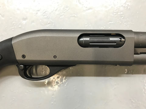 "Rem 870 20""BBL 3"" Tungsten Cerakote, DLC,  w/Rifle Sights"