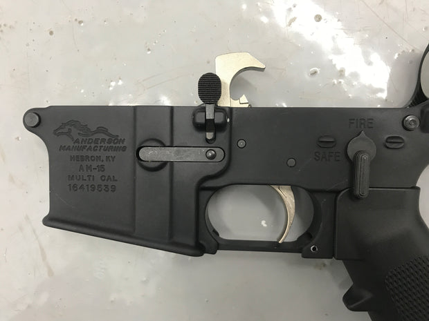 Anderson Arms Complete Lower w/ S&J Lower Parts kit and Nickle Boron Trigger Pak