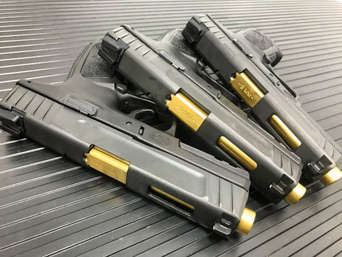 DLC/TiN-Coated SD9VE Smith & Wesson 9mm