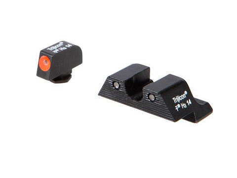 Trijicon HD™ Glock Night Sight Set — Orange Front Outline