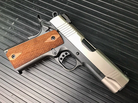 Norinco 1911A1C Commander Carry, Nickel, DLC, Wilson Combat