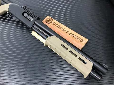 Cerakote - Diassembled Pump-Action Shotgun