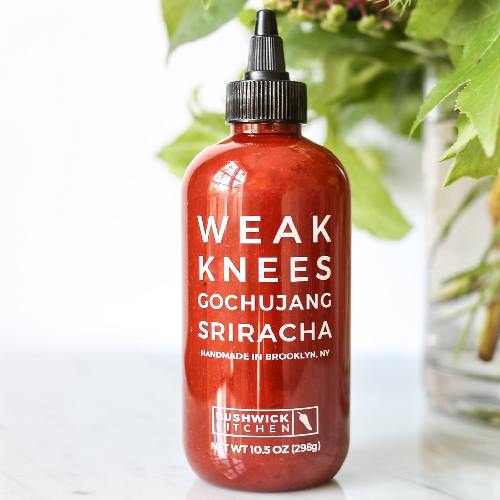 weak knees sriracha