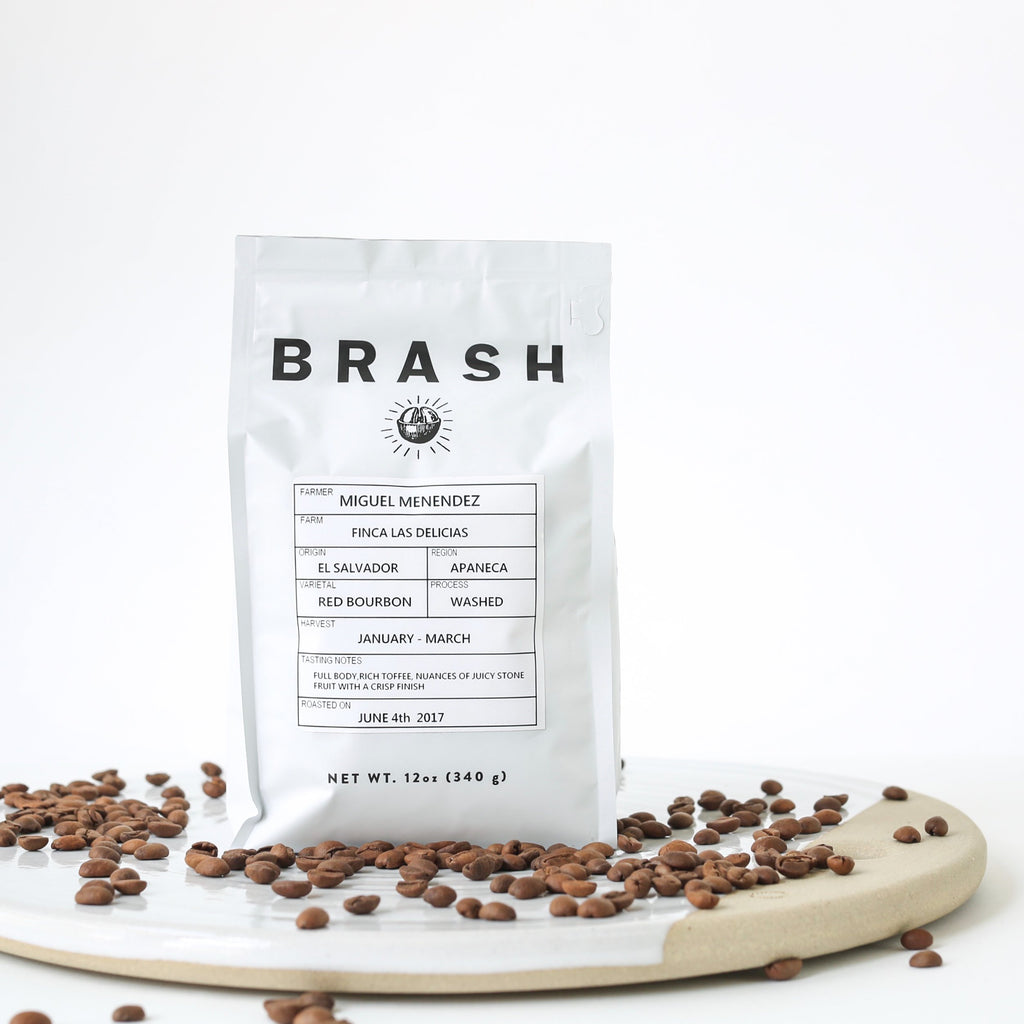 brash single origin coffee