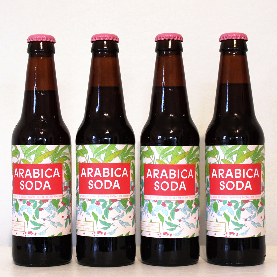Arabica Soda Four Pack