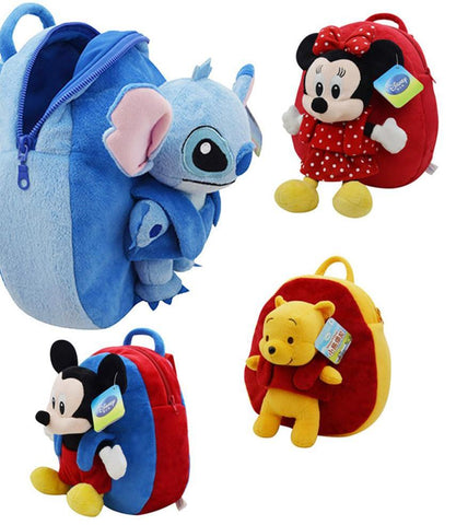 Kids Backpack with removable character