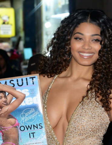 Danielle Herrington at the Sports Illustrated Party
