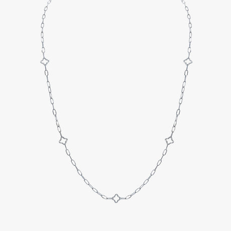 North Star Silhouette Necklace
