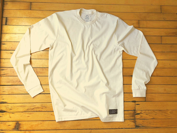 """the original 2.0"" long sleeve t in natural - Take Today Community"