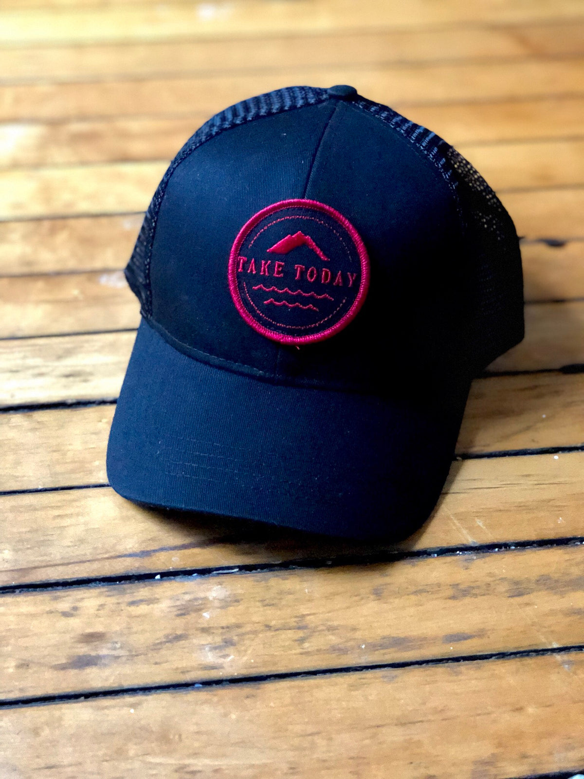 """uptown"" trucker hat in ember - Take Today Community"