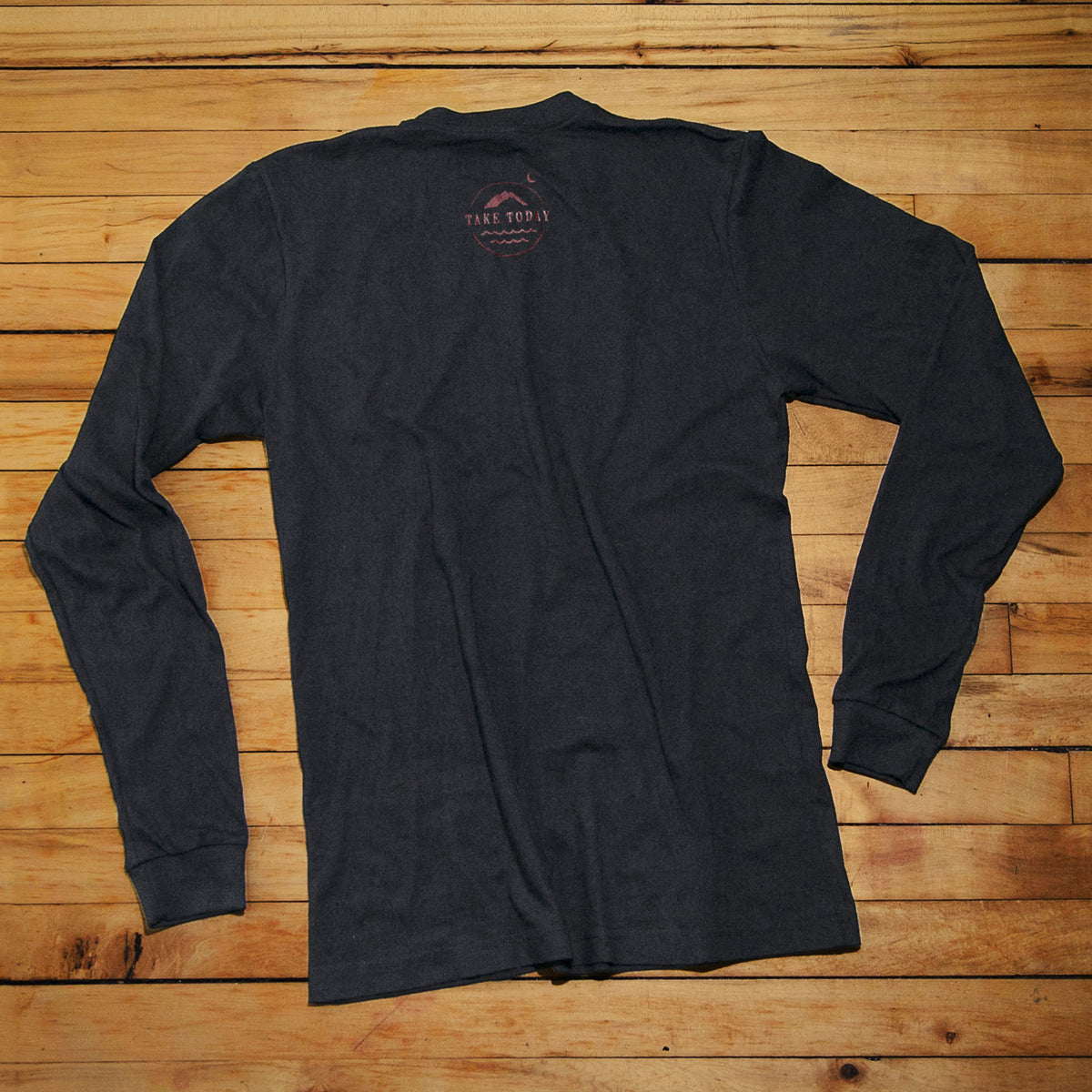 """the original 2.0"" long sleeve t in black"