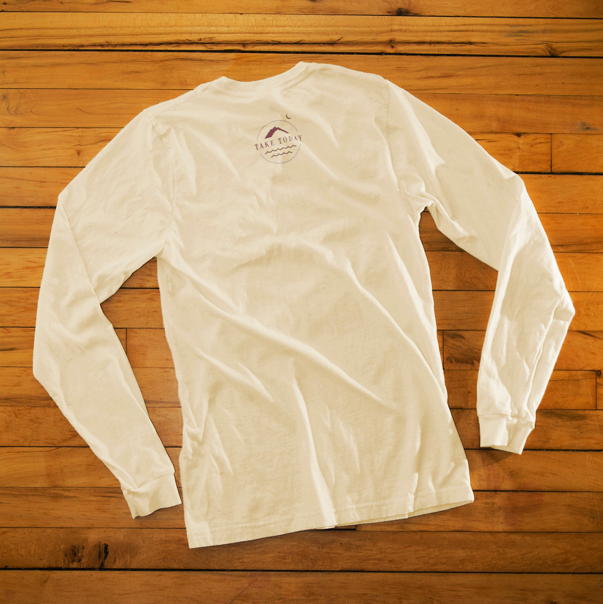 """the original 2.0"" long sleeve t in natural"