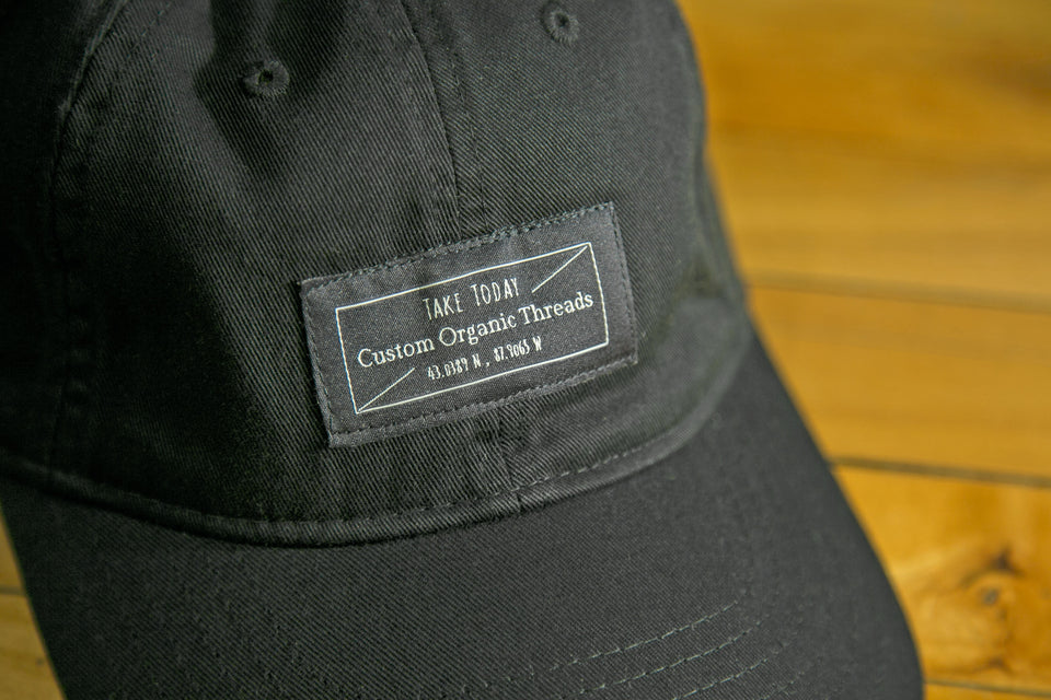 """downtown"" dad hat in late night"