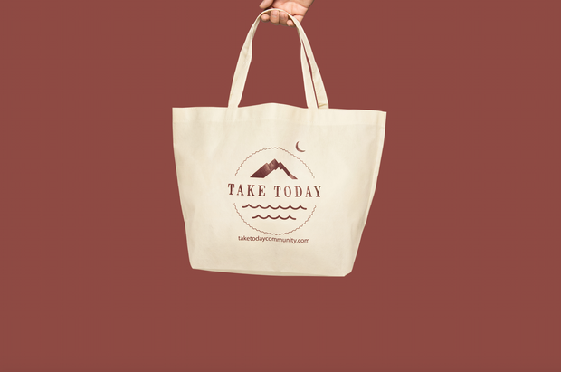 """show us your totes"" logo bag - Take Today Community"