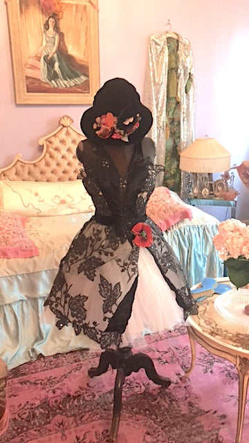 Boudoir Queen KOOK dress Old School Boudoir Queen Tutu Dress