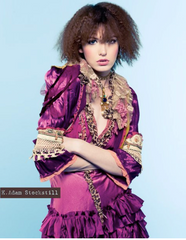 As Seen In Vogue Magazine Nine West CAMPAIGN and ELLE MAGAZINE Boudoir Queen Bed Jacket get the original Custom