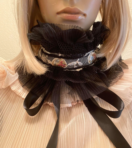 New Arrival Ready to Ship Black Winchester Choker  style #1 Limited Supply ask me about the dresses to match