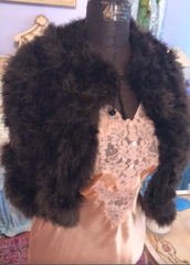 1920's Marabou Feather Flapper stole Preloved 1920's