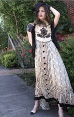THE KEIERA Victorian Dress all Victorian Textiles New Boudoir Queen Capsule Collection 2019