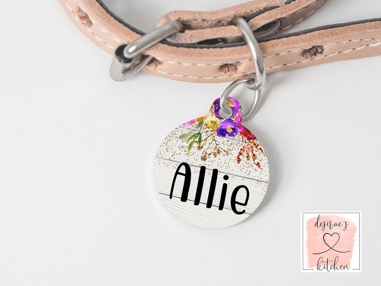 Allie Pet Tag