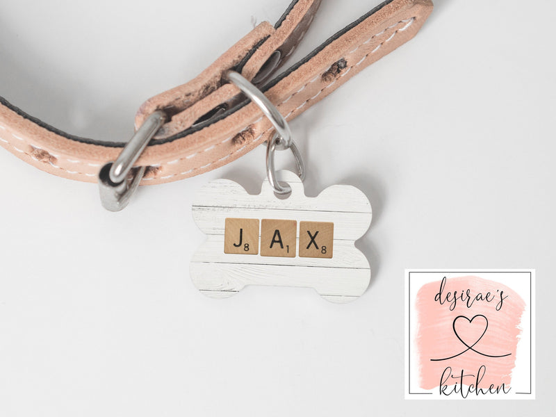 Personalized Dog Name Tag