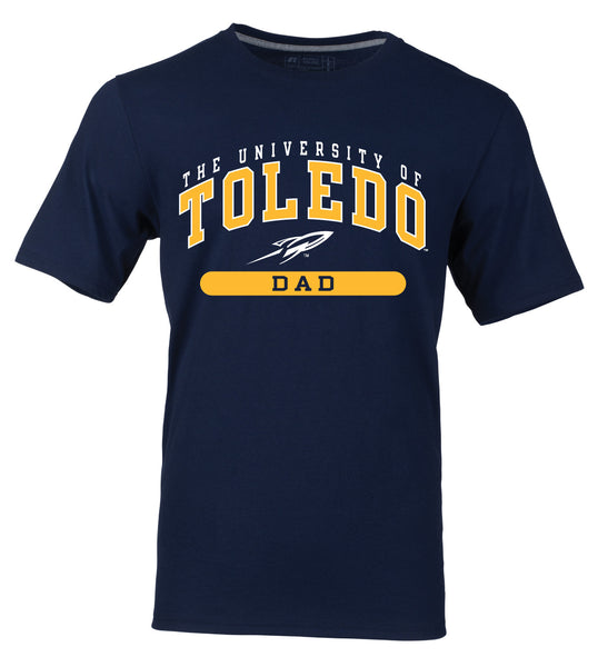 University of Toledo Dad Short Sleeve Tee