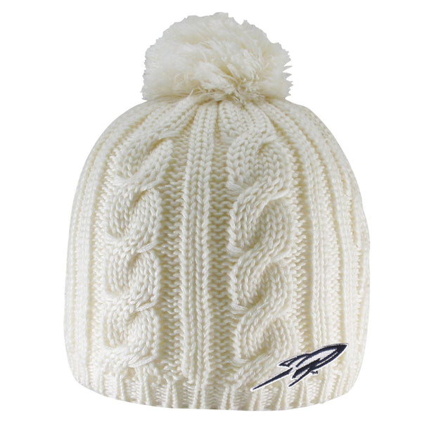 University of Toledo Cumberland Cable-Knit Beanie with Pom