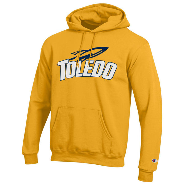 University of Toledo Rockets Champion Hoodie Gold