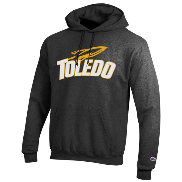 University of Toledo Rockets Champion Hoodie Charcoal Gray