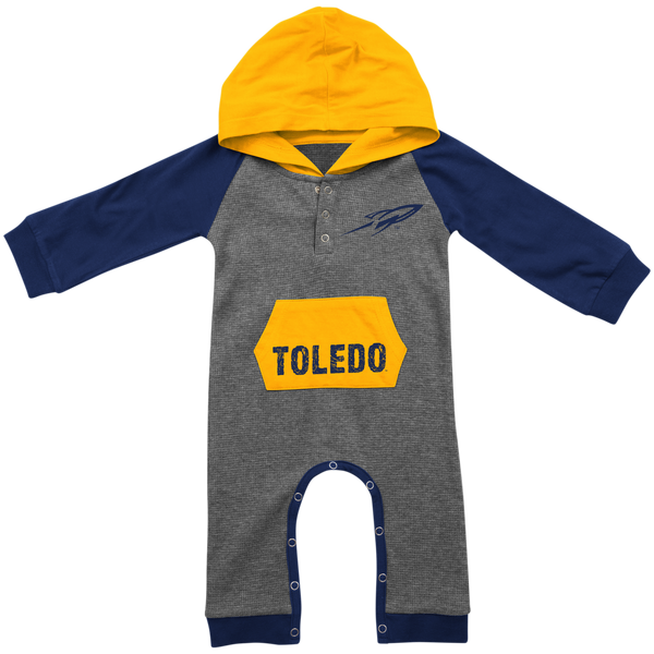 University of Toledo Rockets infant hooded onesie