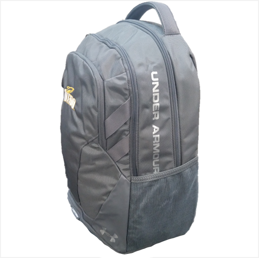 University of Toledo UA Hustle 3.0 Backpack Gray