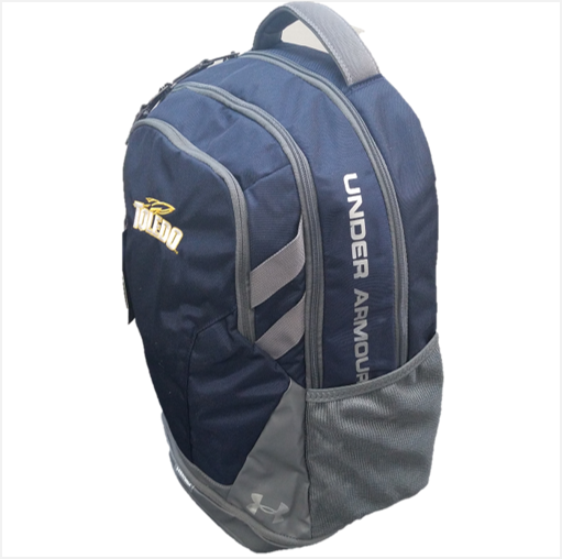 University of Toledo UA Hustle 3.0 Backpack Navy