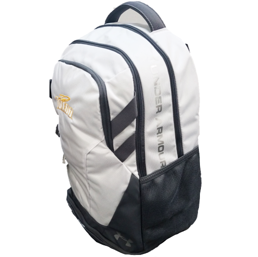 University of Toledo UA Hustle 3.0 Backpack White
