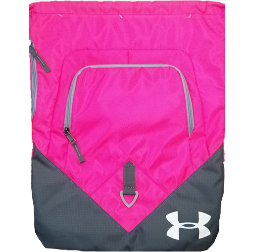 Under Armour Undeniable Sackpack Draw String Bag Pinkadelic